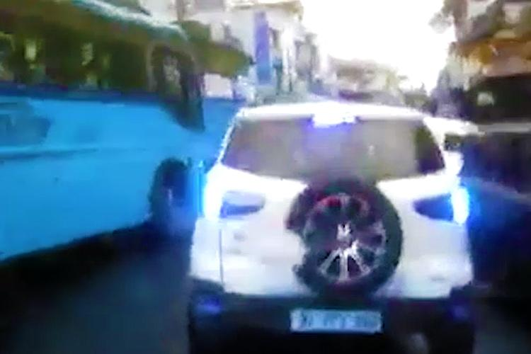 Heights of apathy Video shows SUV blocking ambulance with new-born in Kerala