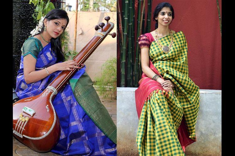 Silk and the sabha Saree trends spotted in Chennais kutcheri season