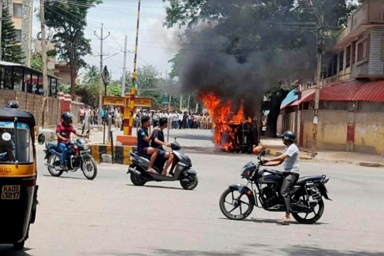 Cauvery crisis 16 areas in Bengaluru put under curfew what this means