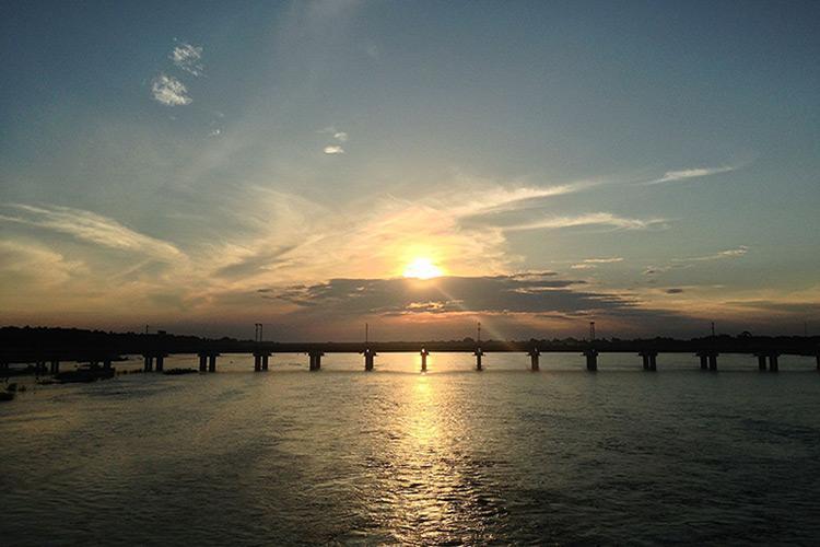 River Cauvery  in Tamil Nadu's Tiruchy