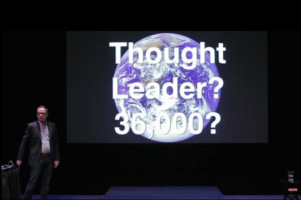 Ted Talks spoof How to be a thought leader and get standing ovations for saying nothing at all