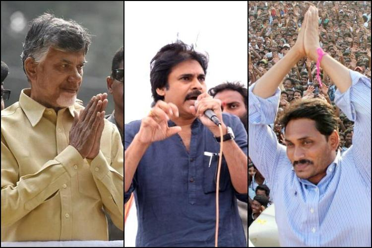 Self goal by Jagan U-turns by CBN Advantage Pawan Kalyan in Andhra