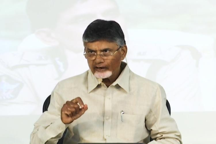 After TDP cadre arrested over social media posts Naidu claims police bias