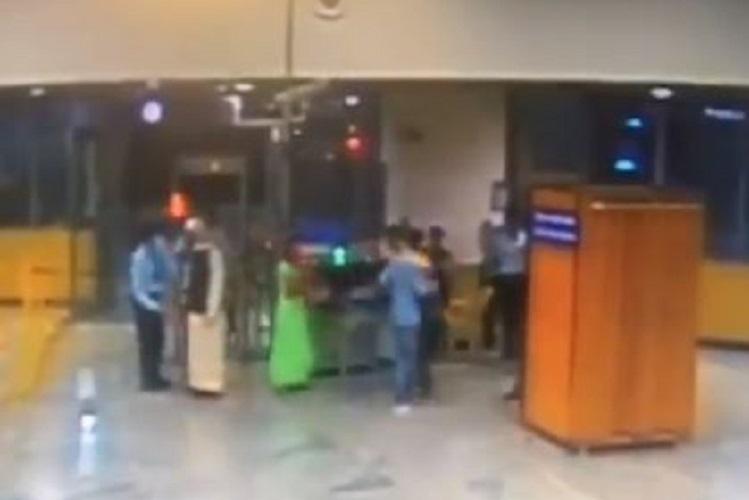 Man refuses security check at Bengaluru metro station and flees triggers alarm