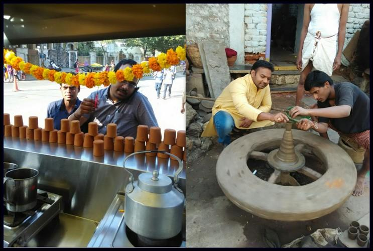 Serving tea in clay glasses isnt just a business for this Hyderabad engineer