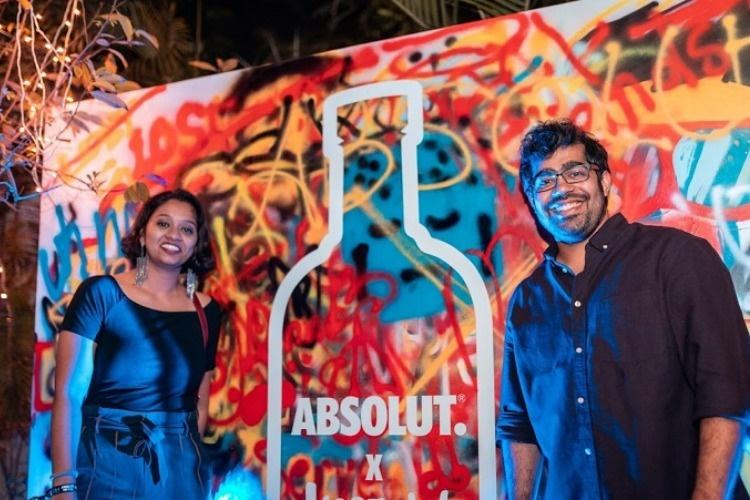 From art installations to graffiti this duo is revamping Hyderabads pop culture scene