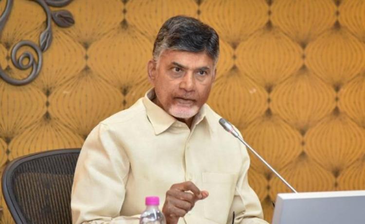 Centre Telangana govt behaving like economic terrorists Andhra CM Naidu