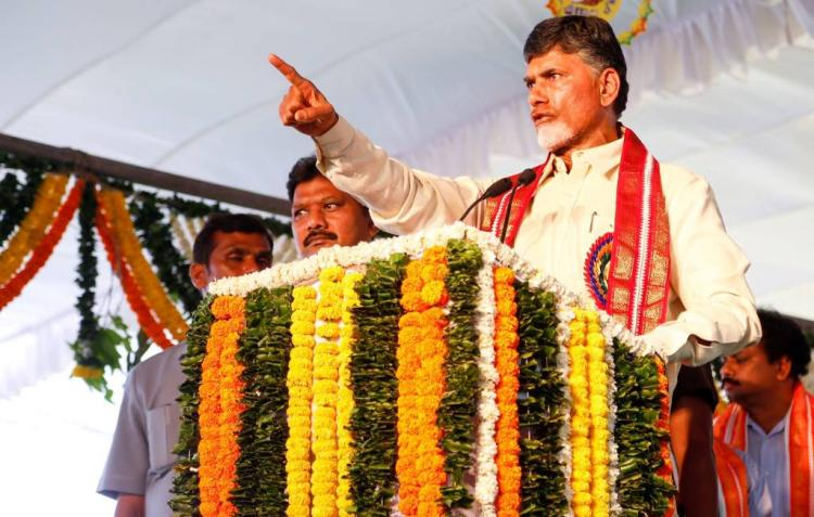Naidu hits back over allegations of lucrative land deals by TDP leaders in Amaravati