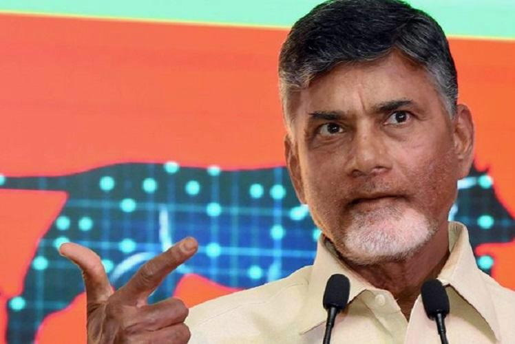 Andhra CM Naidus change in stance Congress blood or shrewd strategy