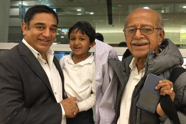 Kamal Haasan's brother breathes his last