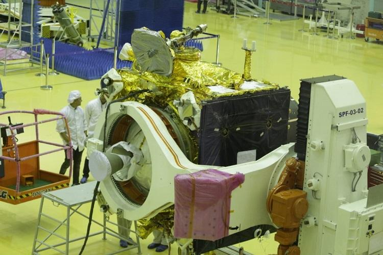 First glimpses of Chandrayaan-2 orbiter and lander