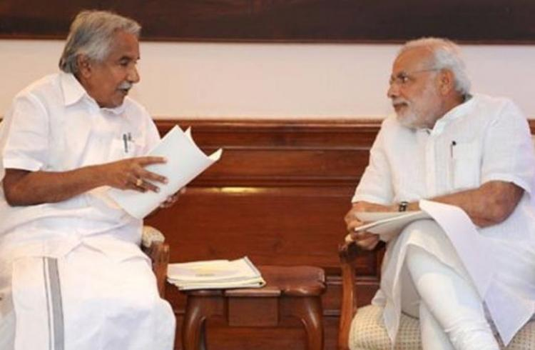 Kerala politicians upset as media report that PMO struck off Chandys name from invite