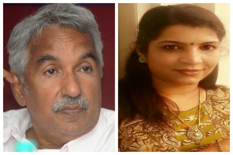 Gave bribe to Oommen Chandy and other politicians Saritha Nair makes explosive allegations