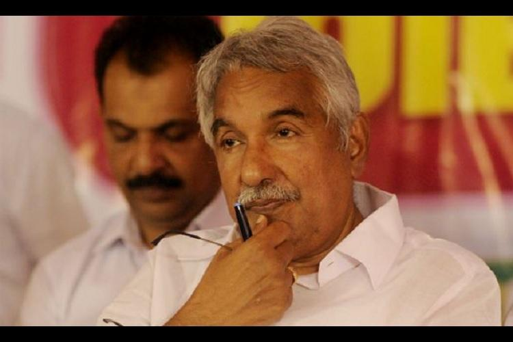 Former Kerala CM Oommen Chandy named in FIR filed in land grab case