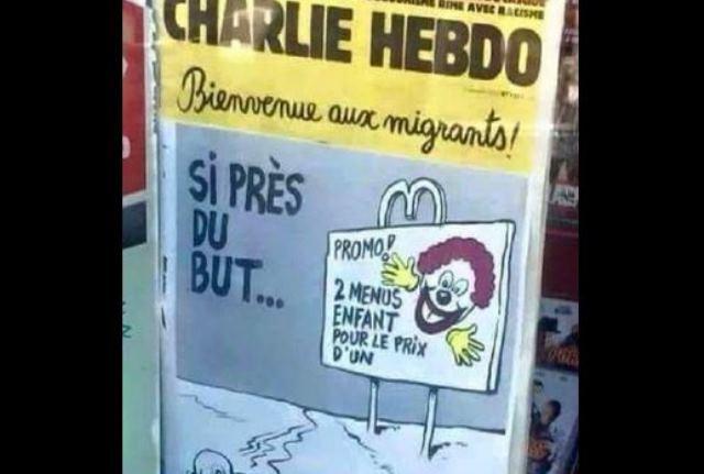 Charlie Hebdo criticised for drowned Syrian toddler Alan Kurdi s cartoon