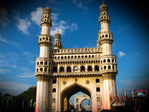 The Telangana deputy CM believes even Charminar can be razed down if its weak