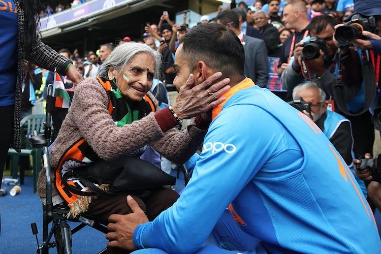 Team Indias 87-yr-old superfan Charulata Patel passes away BCCI tweets condolences