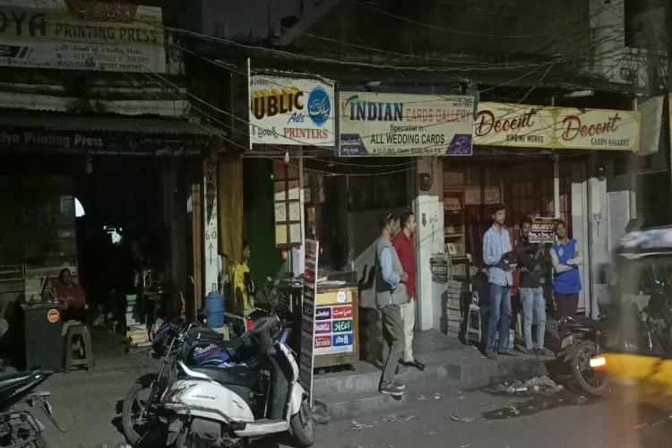 Hyderabad shopkeepers turn off lights in protest against CAA allege police harassment