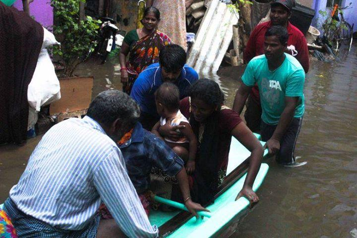 As the city sank Chennai became the definition of the idea of India