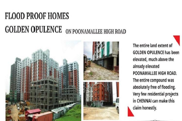 Realtors advertise Chennai property boasting of flood-time preparedness