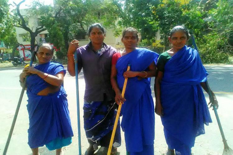 A salute to Chennais selfless govt staff working hard to bring the city back on its feet