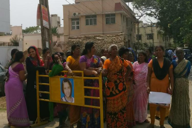 What if it was our child Fear and anger in Chennai suburb over horrific murder of 7-year-old