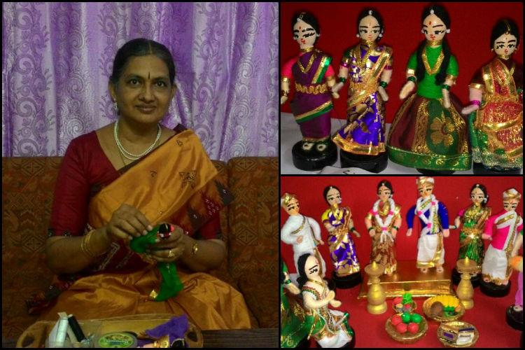 From Dasara to school projects Chennais golu-maker creates dolls for all occasions