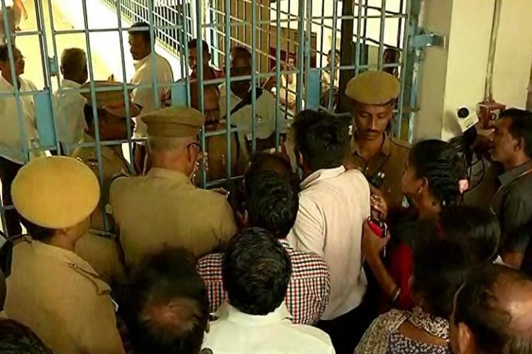 Chennai police manhandle journalists at Kovan court hearing reporters allege intimidation