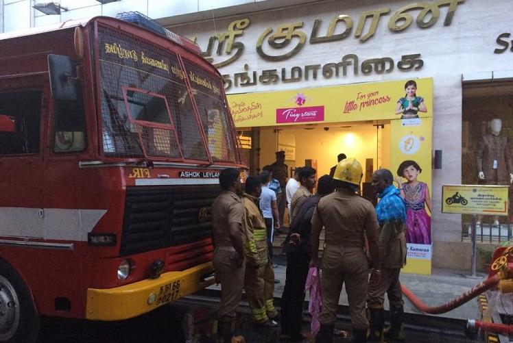 Chennai Silks fire Shops in T Nagar reopen but demolition of building to take longer