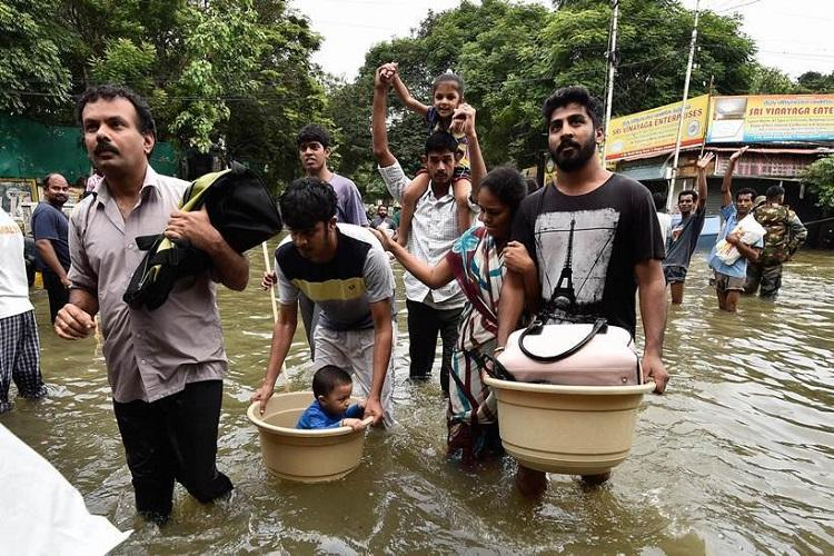 Cant control nature must control our greed Lessons from the 2015 Chennai floods