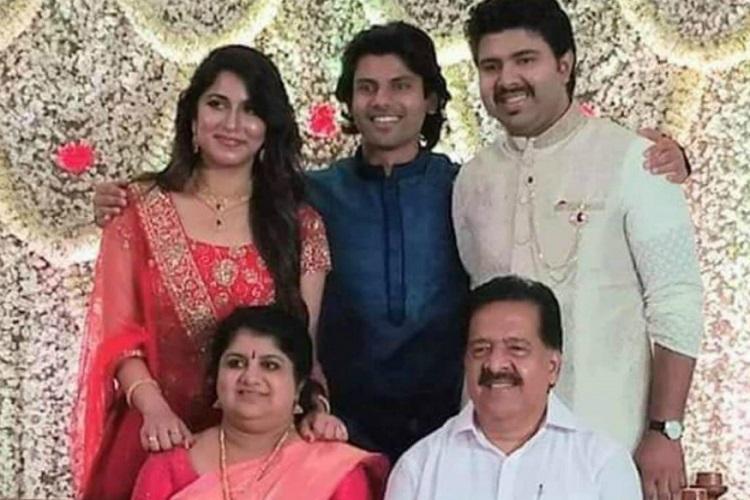 Chennithala's son cancels reception to fund wedding of slain