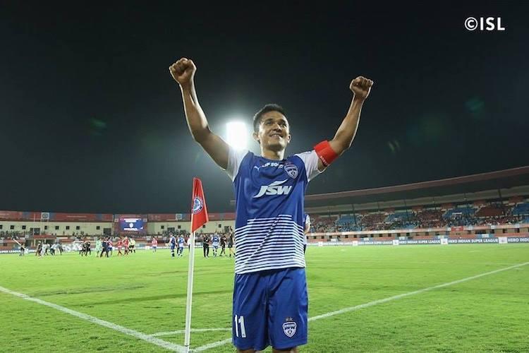 Sunil Chhetri extends contract with Bengaluru FC till 2021