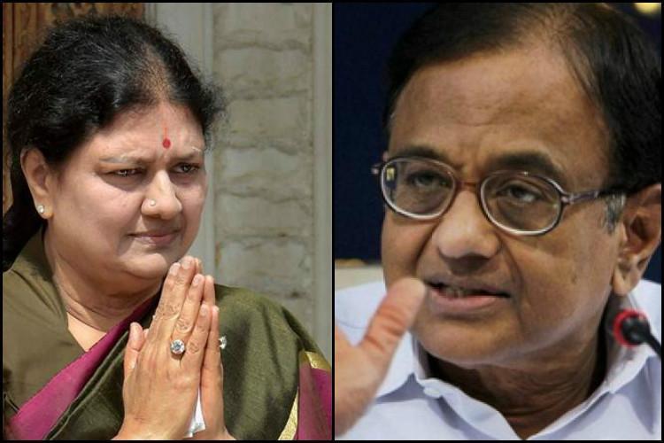Chidambaram joins the bandwagon questions Sasikalas elevation