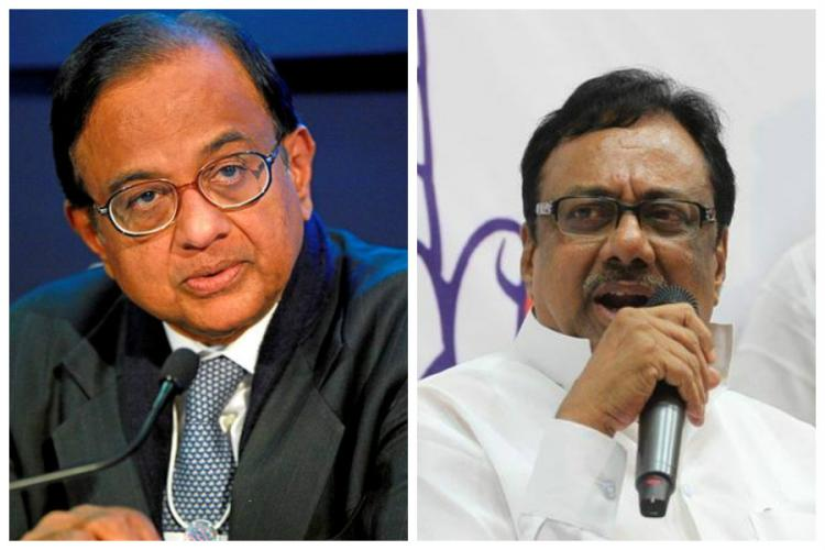 Supporters of P Chidambaram and EVKS come to blows at TNCC meeting two arrested