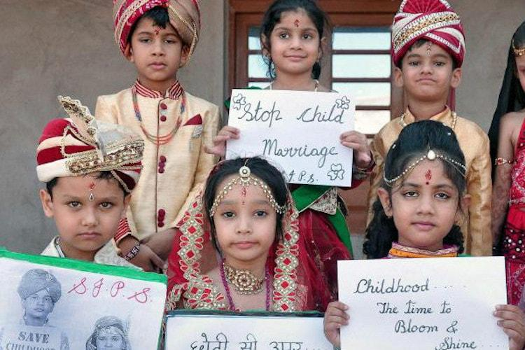 Child marriages decline, significant drop in India figures