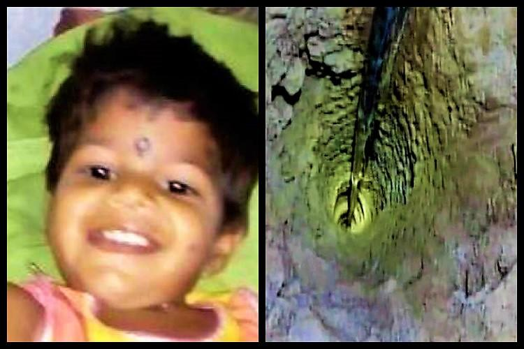 Telangana baby girl dies in borewell as 3-day rescue op fails body flushed out