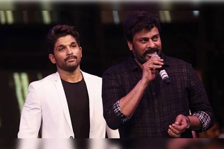 Chiranjeevi and Allu Arjun to team up for a film