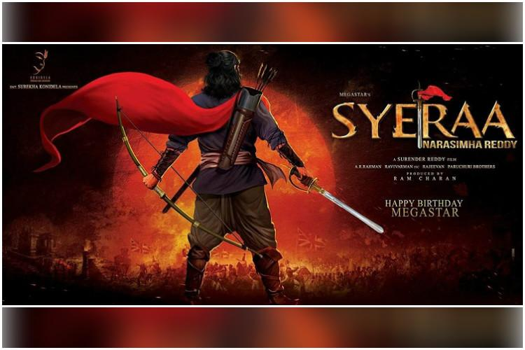 Setback for Chiranjeevis Sye Raa team