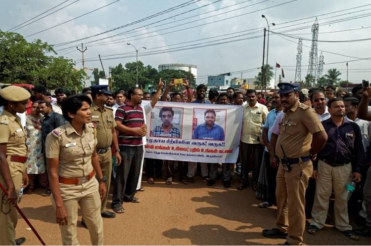 Battered but not beaten Chitlapakkam residents fight for the right to ask questions