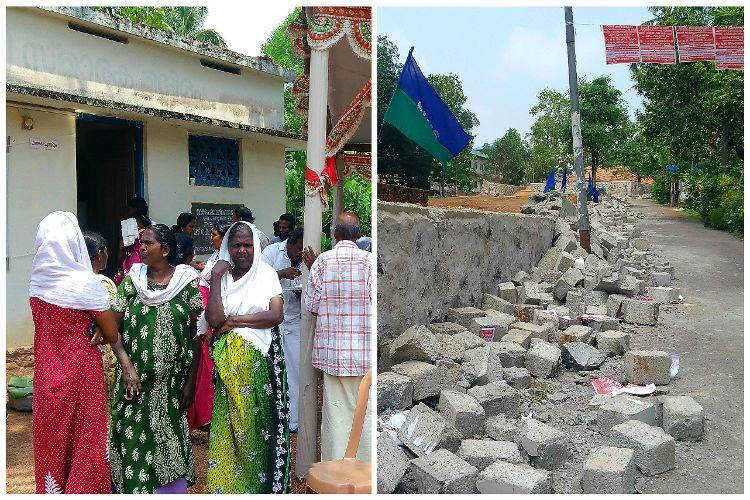 Dalits in Kerala village end protest after govt says caste wall wont be reconstructed