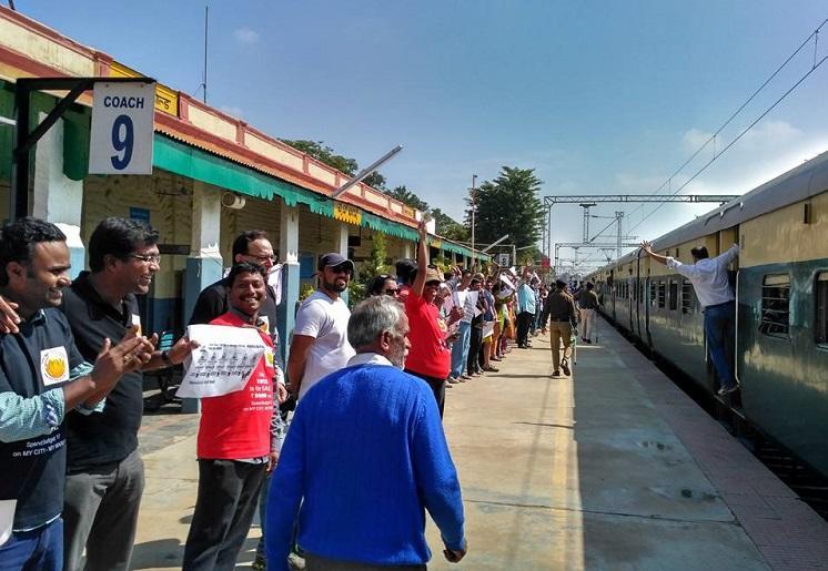 After Bluru says Chuku Buku Beku Centre states that suburban trains work will begin soon