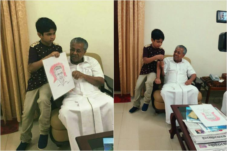 How a viral Facebook video paved way for meeting with CM for Kerala boy