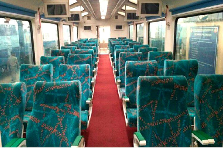 Indias first tourist friendly 40 seater Vistadome coach all set to operate from Vizag