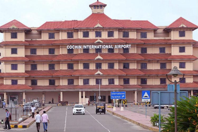 Cochin airport stops flight arrivals train traffic hit all over Kerala