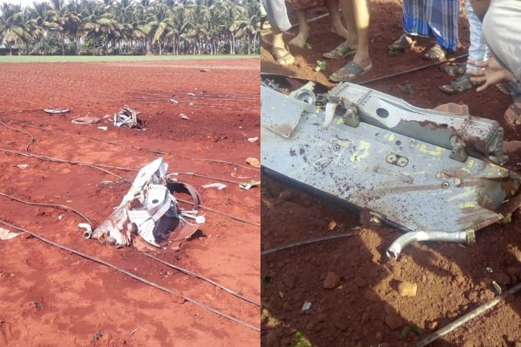 External fuel tank of IAF Tejas aircraft falls in Coimbatore field