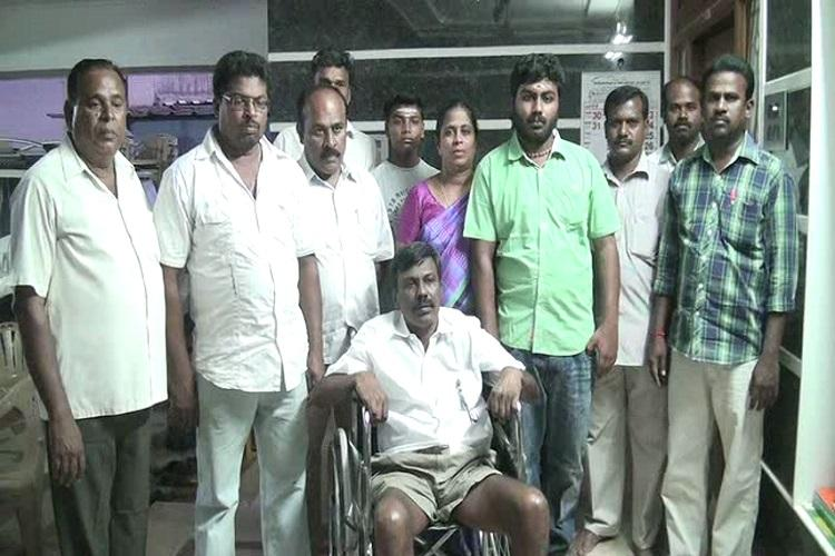 Coimbatore man overcame paralysis to help neighbours give loved ones a fitting goodbye