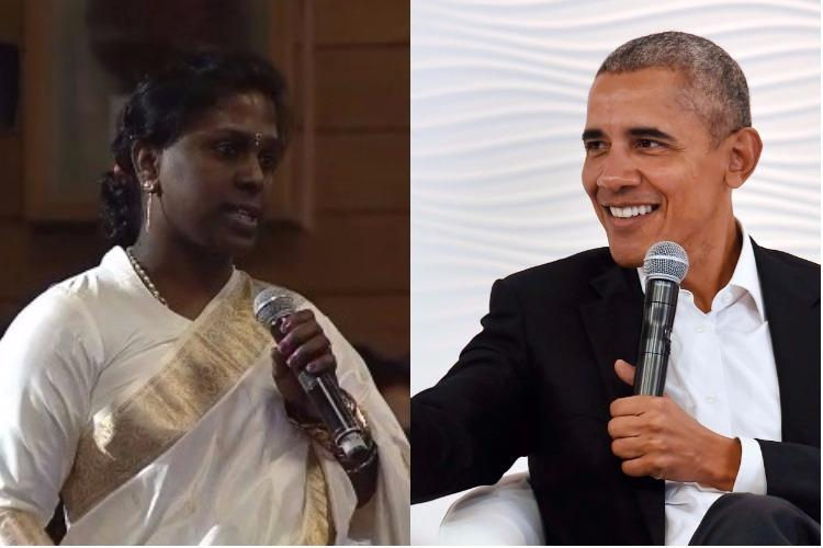 I am a criminal Ktaka transgender activist asks Barack Obama for advice and a hug