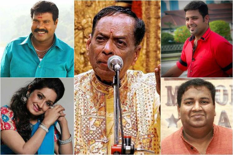From Kalpana To Balamurali Krishna A Gloomy 2016 For The South