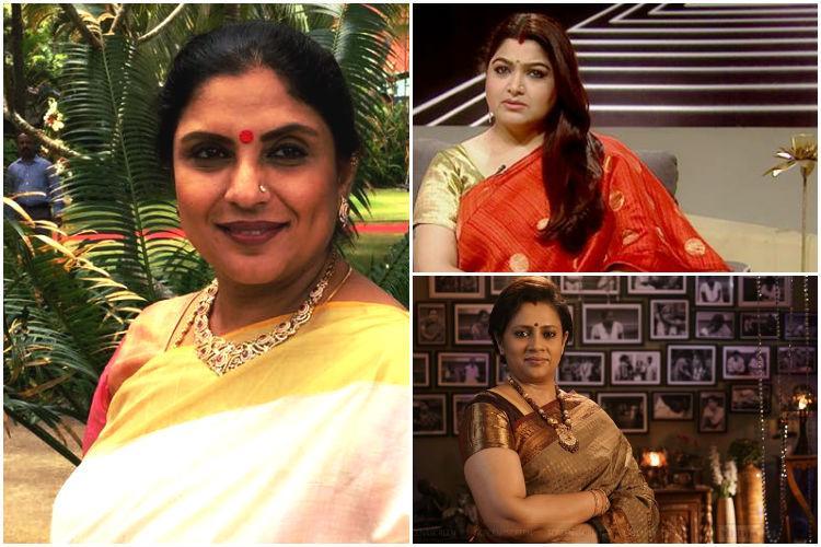 Actor Sripriya calls out kangaroo courts on TV Khushbu and Lakshmy Ramakrishnan respond