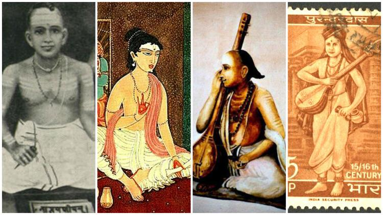 Four ancient poets of different south Indian languages who immortalised Lord Krishna